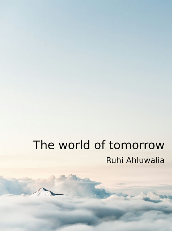 the cover of The world of tomorrow